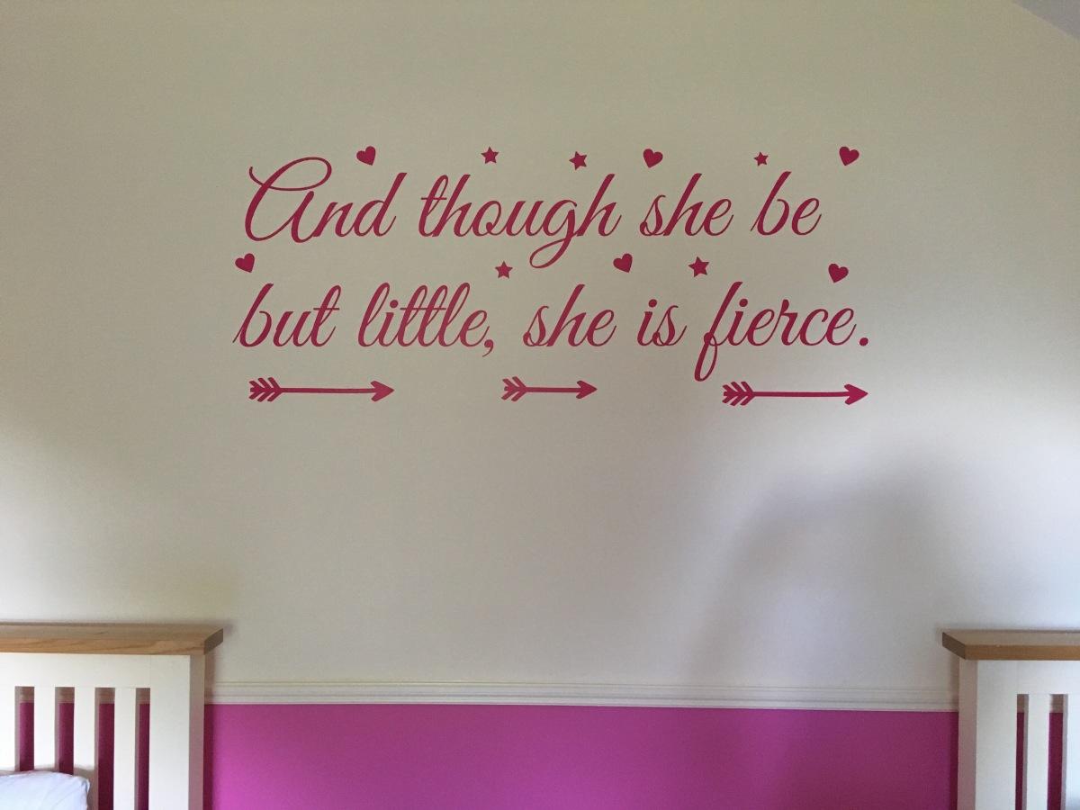 Her own room, sosoon?